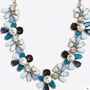 Beautiful jcrew colorful statement necklace